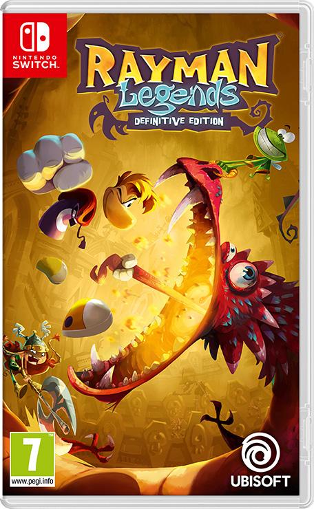 Rayman Legends Switch voor €11,99 @ nintendo eshop NL