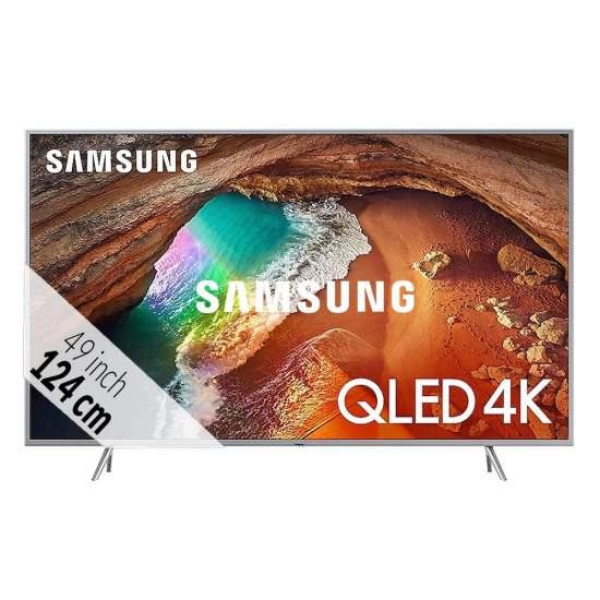 Samsung QLED QE49Q67R Zilver bij Obbink