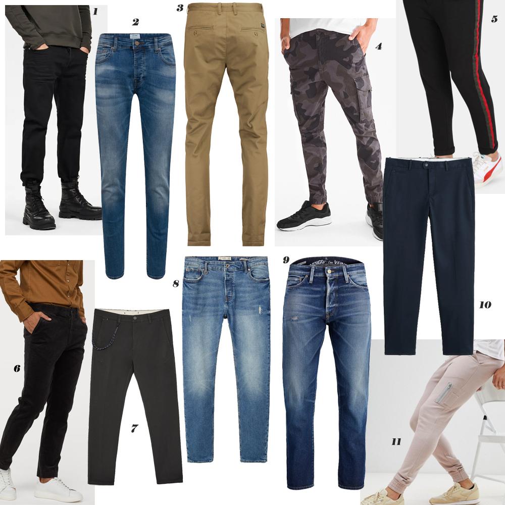 Budget fashion MEN - #2. BROEKEN: CHINO'S / JEANS / JOGGERS