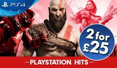 Diverse PlayStation Hits PS4 vanaf €14,71 (2 voor €28,64) @ Base