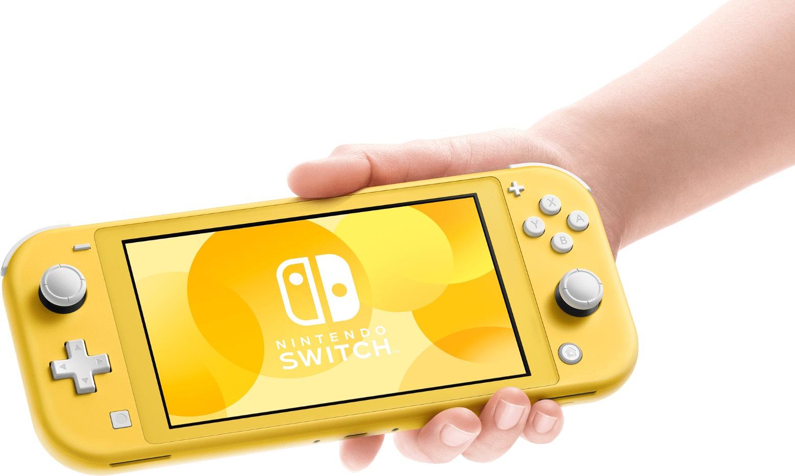 Nintendo Switch lite bij Amazon.fr (alle kleuren)