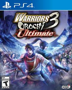 Warriors Orochi 3: Ultimate (pre-order) (PS4) voor € 37,70 @ Zavvi