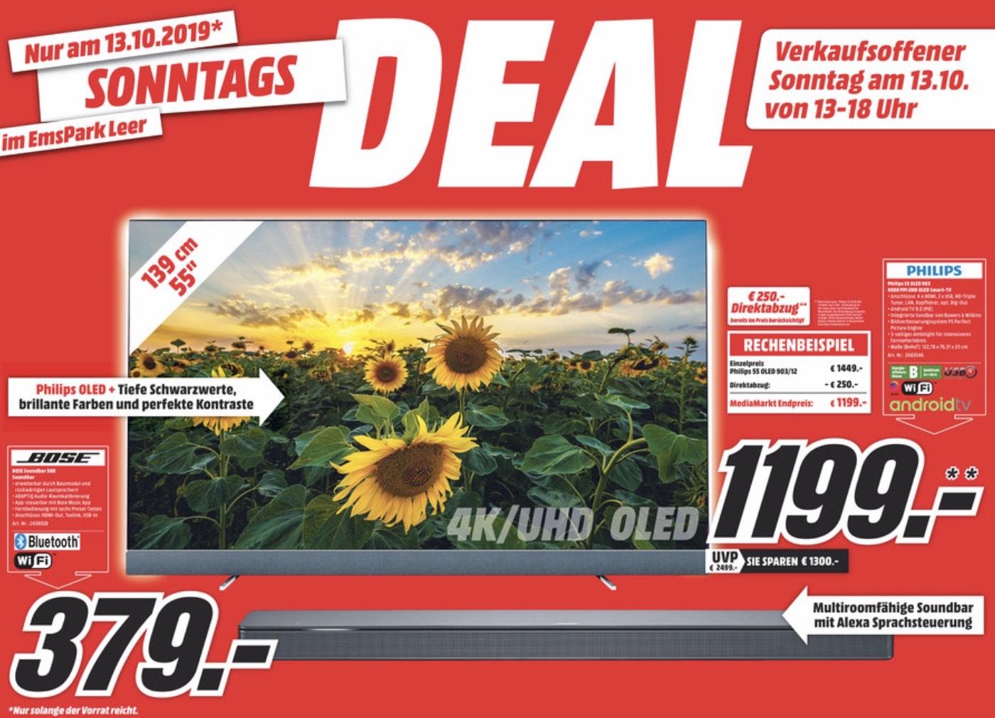 (Grensdeal) Philips 55OLED903 voor 1199 euro.