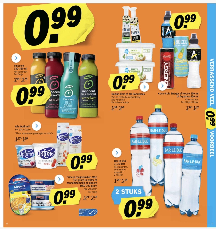 Veel producten €0,99 | 14 t/m 20 oktober @ AH