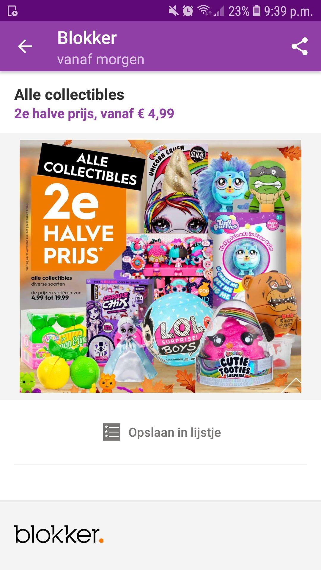 LOL surprise en andere collectibles 2e halve prijs