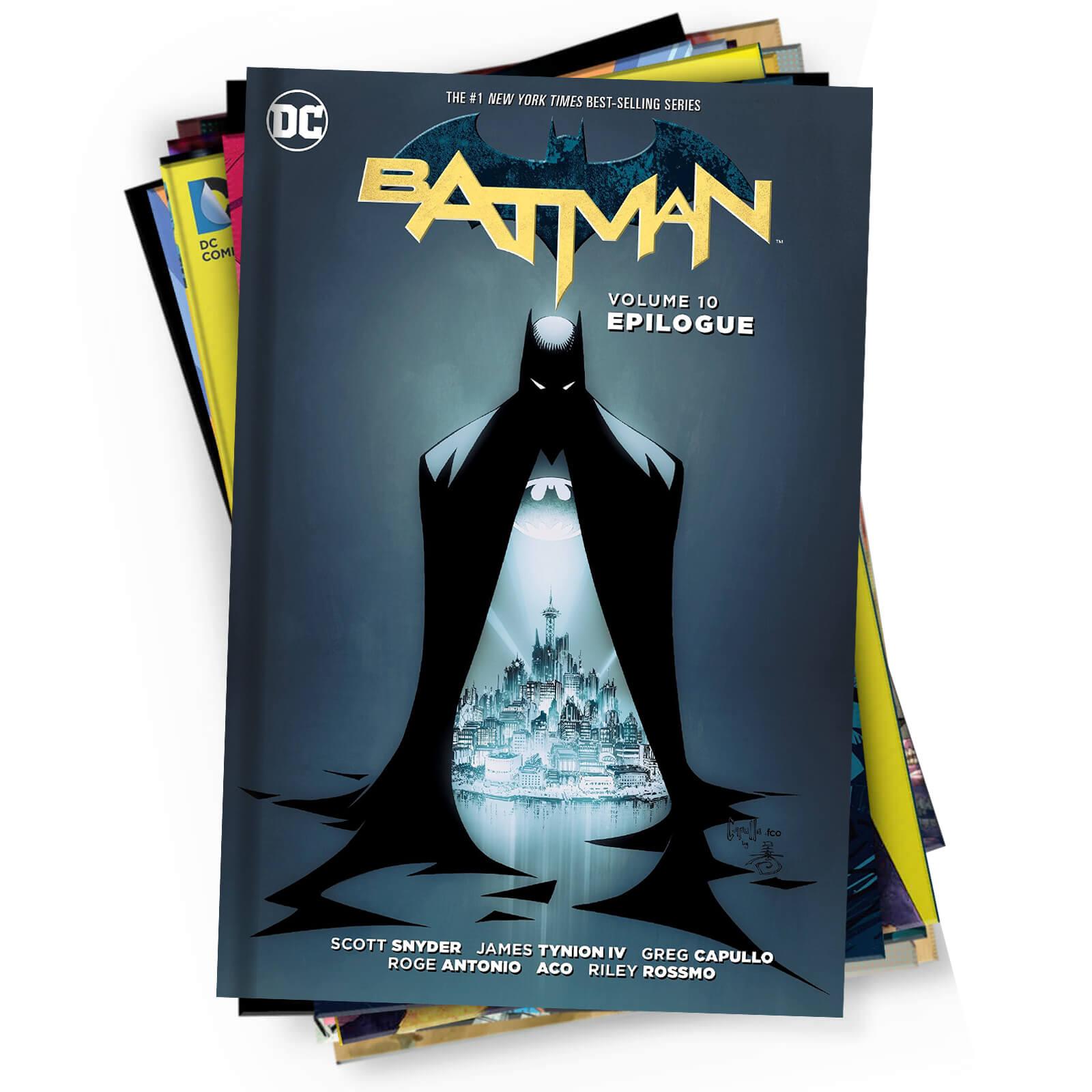 Mystery DC comics 10 graphic novels bundle was 118,99 nu 22,99