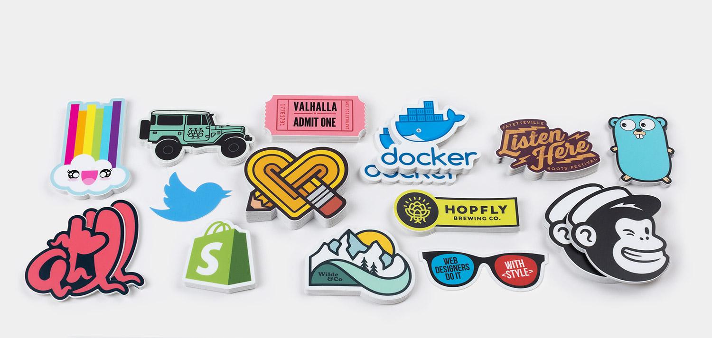 €0,90 inc verzending voor 10x custom uitgestanste sticker @ stickermule
