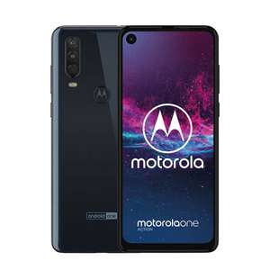 Motorola One Action 4GB/128GB Blauw @ Media Markt