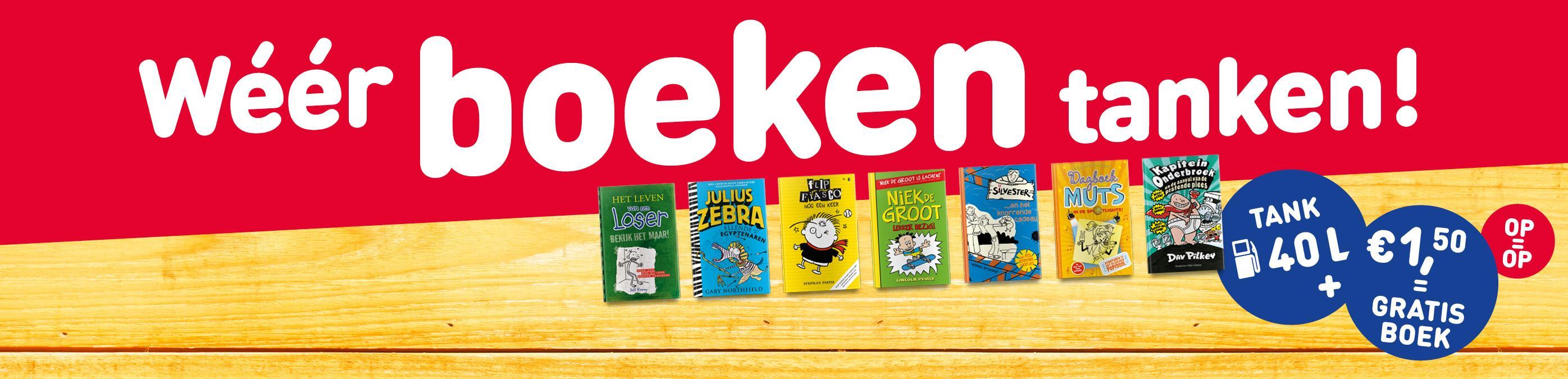Jeugdboeken voor €1,50 bij Total *zonder te tanken!*