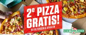 2e pizza gratis bij New York Pizza voor Simpel leden