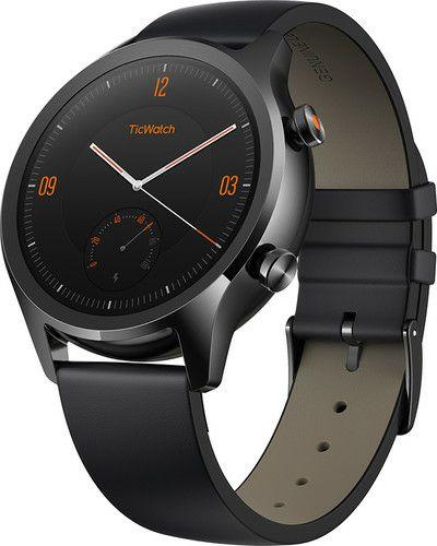 Ticwatch C2 Zwart - WearOS Smartwatch