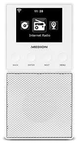 Medion LIFE E85032 Stekker Internet Radio & Bluetooth Speaker @amazon.de
