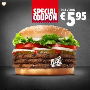 TRIPPLE WHOPPER BURGERKING