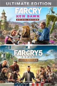 Far Cry® 5 Gold Edition + Far Cry ® New Dawn Ultimate Edition Bundle (Xbox one)