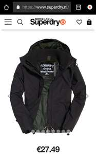 Superdry SD-Windcheater maat S, €27,49 ipv €109