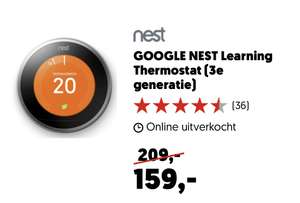Google Nest Learning Thermostat V3