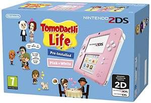 Nintendo 2DS Tomodachi Life Roze @Amazon.es