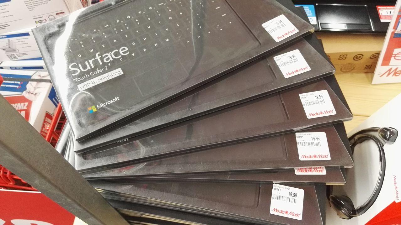 Microsoft Surface Touch Cover 2 Black voor €19,99 @ Media Markt (Leeuwarden)