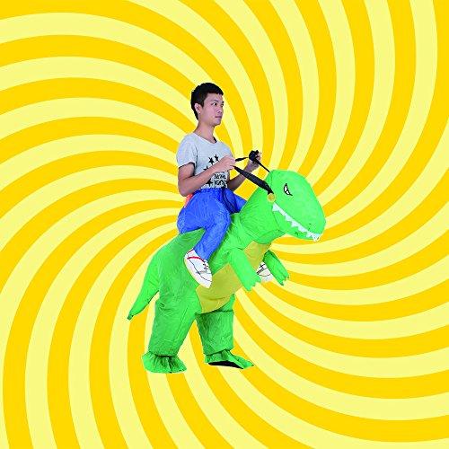 Opblaasbaar Dinosaurus pak voor Halloween €22,61 @ amazon.es
