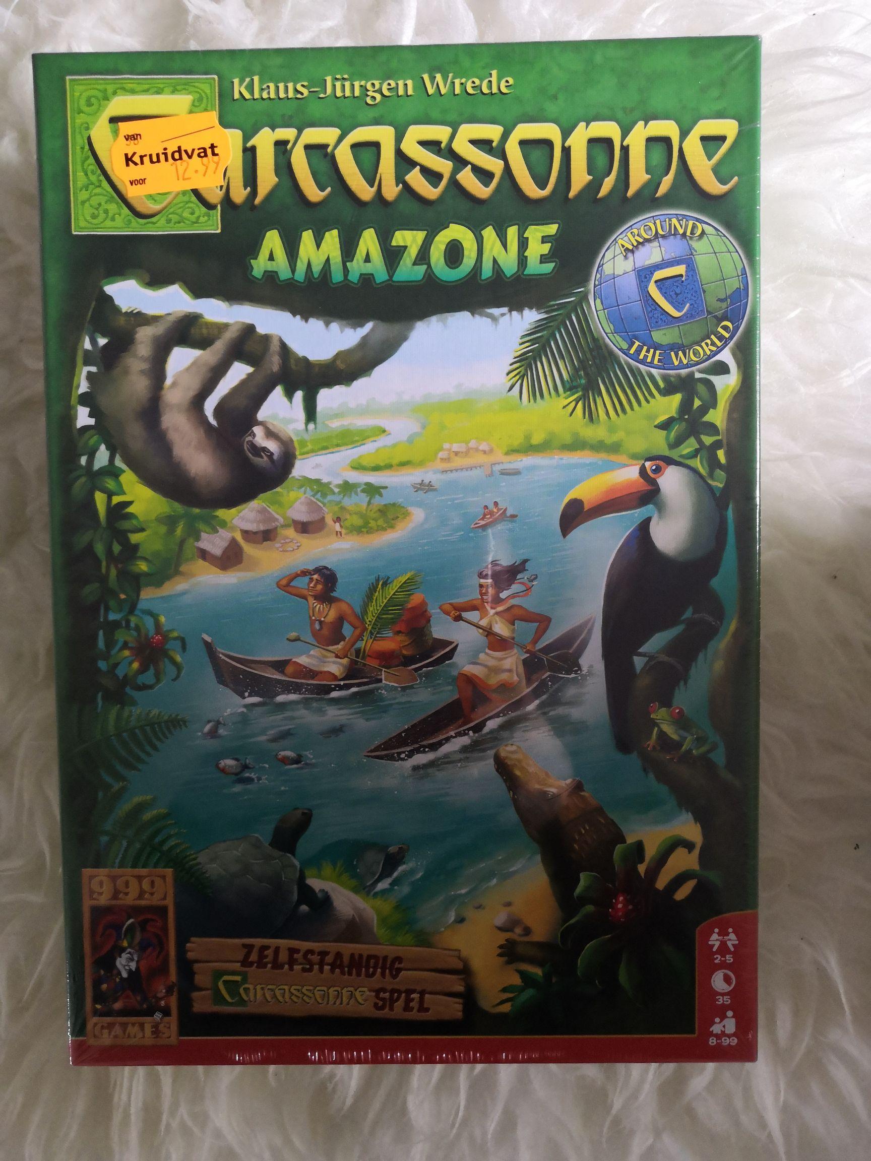 Carcassonne Amazone €9,74 @ Kruidvat
