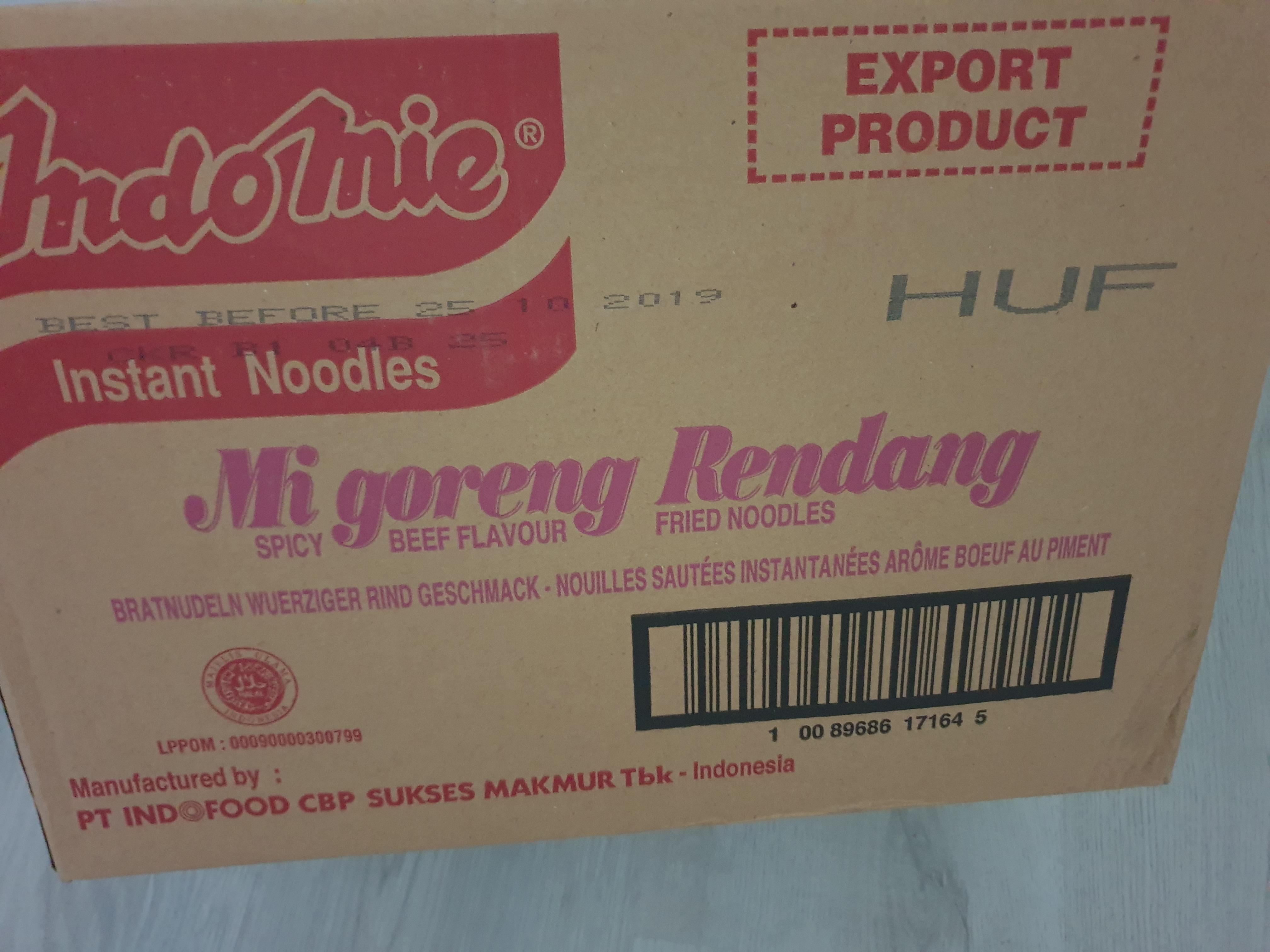 [Amsterdam] indomie doos met 40 stuks voor maar 1,99 bij de Tanger