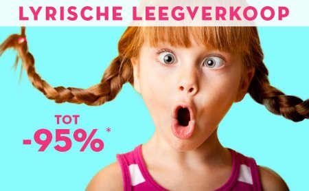 Vandaag: Lyrische Leegverkoop -95%   Limango