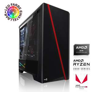 GAMING PC AMD Ryzen 5 3600 6x3.60GHz | 16GB DDR4 | RX VEGA 56 | 480GB SSD