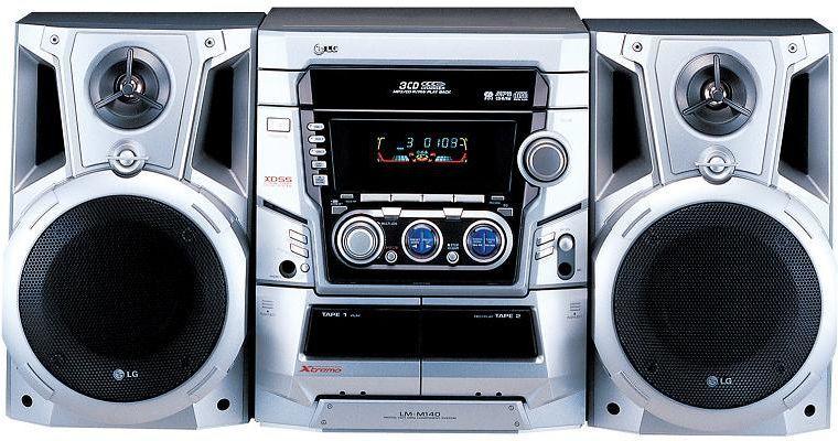 LG LM-M 140 Stereo set (prijsfout)