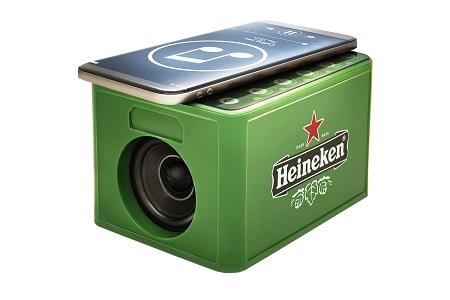 Heineken speakerkratje - zo goed als gratis