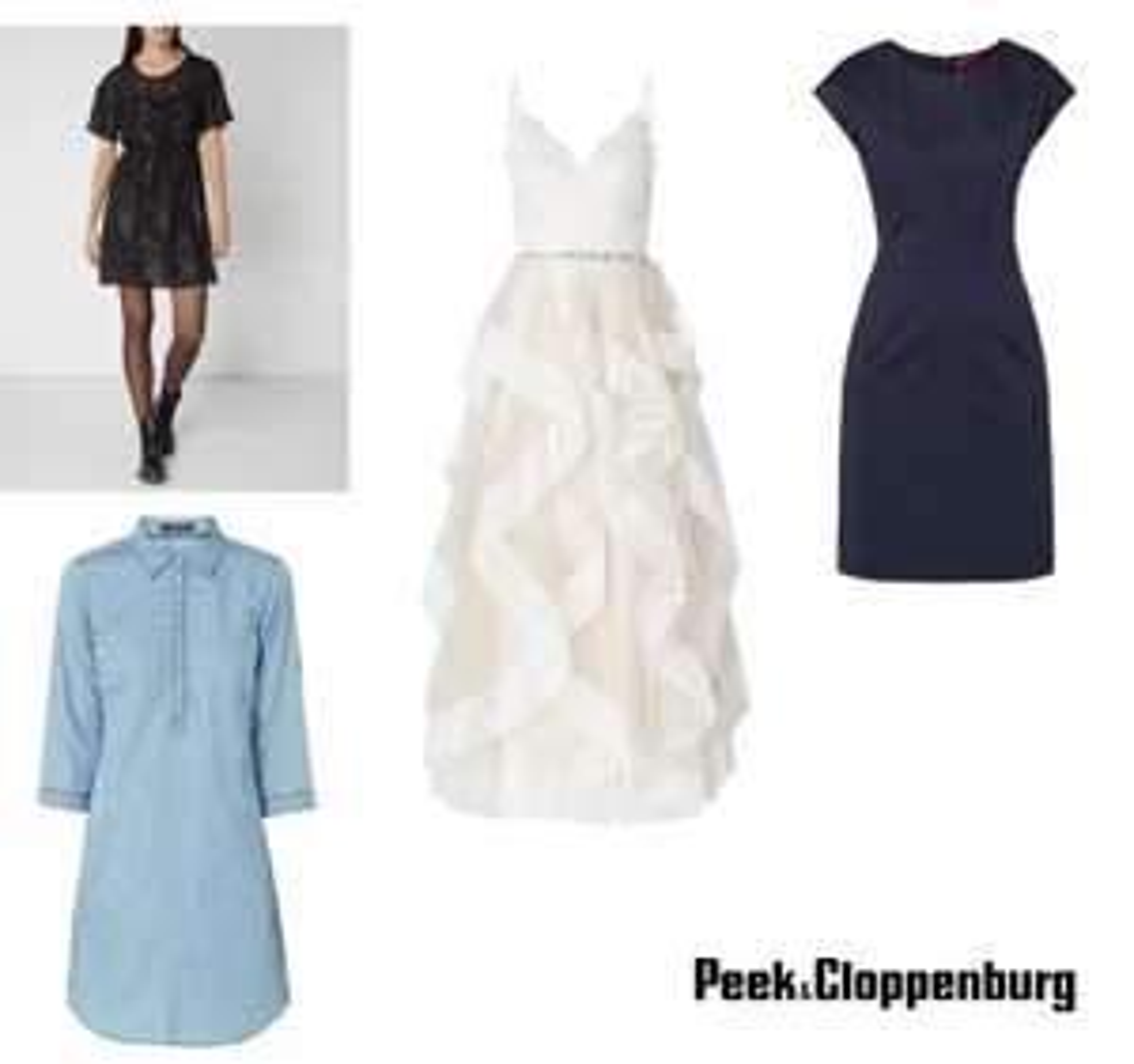 Met code 20% korting op jurken - ook op sale (tot -75%) @ Peek & Cloppenburg