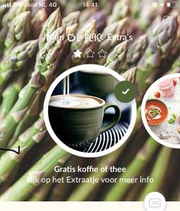 Gratis koffie, thee, frisdrank of limonade || La Place