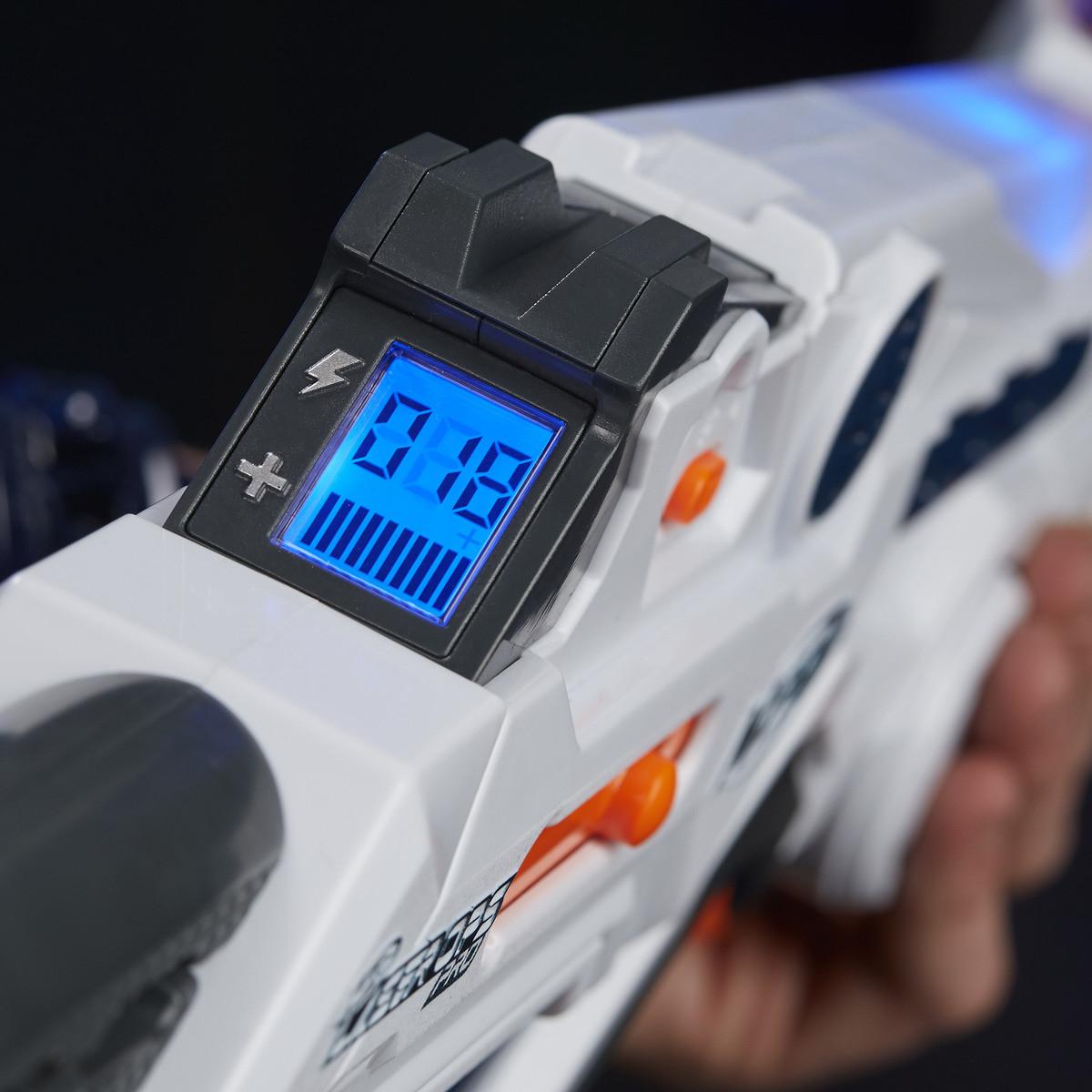 NERF Laser Ops Deltaburst+gratis GRATIS NERF N-Strike Modulus Ionfire toychamp