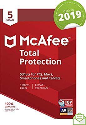 McAfee Total protection 5 apparaten 1 jaar