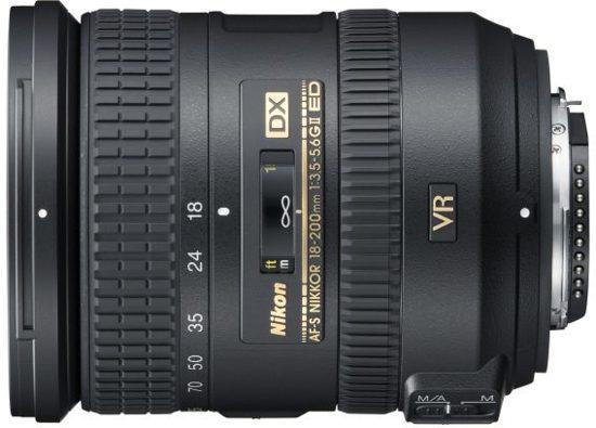 Nikon Ultrazoom type 2 DX, 18-200 VR II, f3,5-5,6G ED