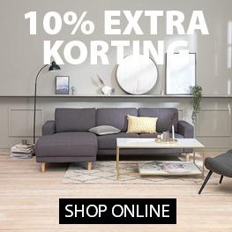 10% extra kortings tijdens het JYSK VIP weekend