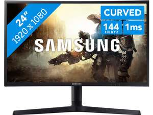 Samsung LC24FG73FQUXEN 24 inch Curved 144Hz monitor @ Coolblue