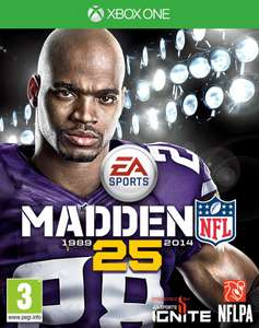 Madden NFL 25 (Xbox One/PS4) voor 28,73 @ Game.co.uk