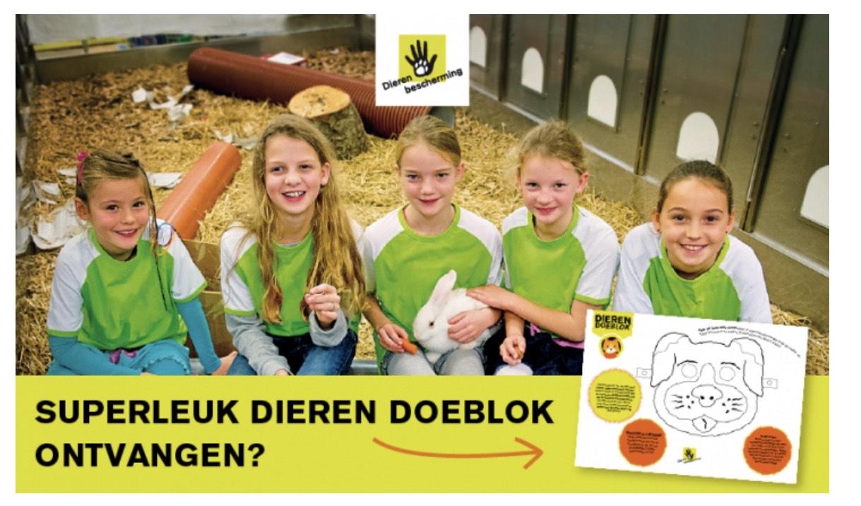 GRATIS proefnummer Dier + Dieren Doeblok @ Dierenbescherming