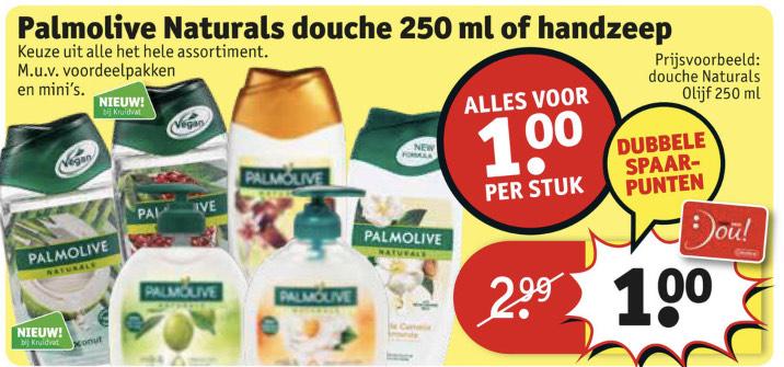 Palmolive Naturals €1.00 (+ dubbele spaarpunten) || Kruidvat