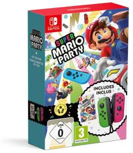 [Switch] Super Mario Party + Joy-Cons @Amazon.fr