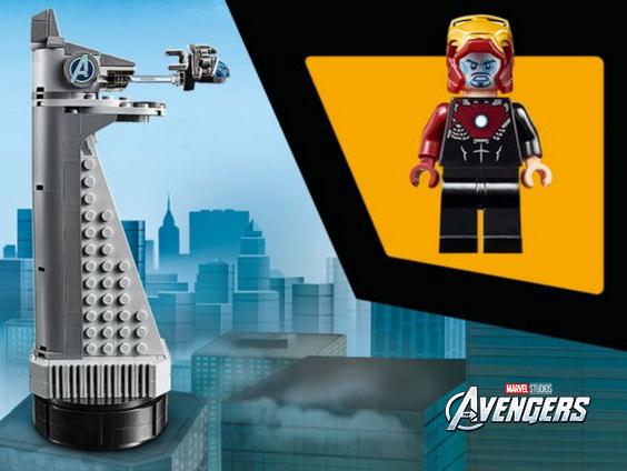 Gratis exclusieve Avengers-toren bij elke Disney-aankoop vanaf € 75.