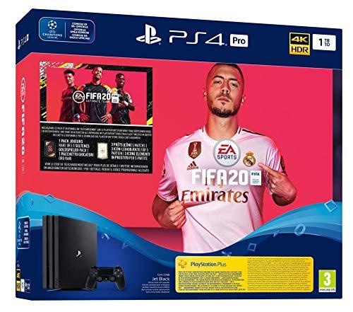 PlayStation 4 Pro (1 TB) + FIFA 20 @ Amazon.de