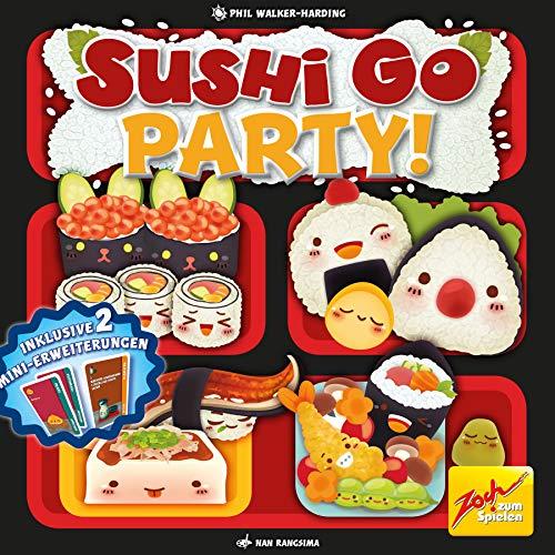 Duitse Sushi Go Party voor €9,99 @ amazon.de