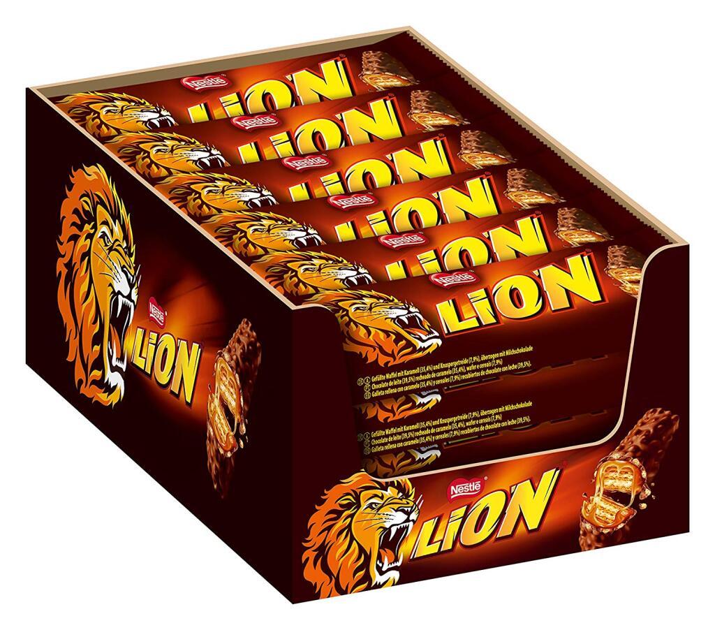 ze zijn er weer! Lion of KitKat 24 x 42g @amazon