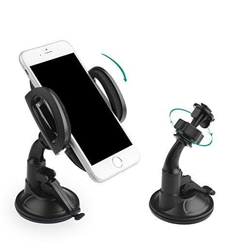[Amazon] AuKey Smartphonehouder met zuignap (360° draaibaar)