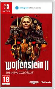 Wolfenstein II: The New Colossus (Nintendo Switch) @ Amazon.es