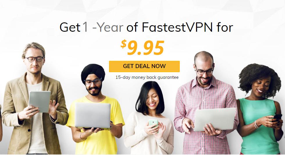 FastestVPN: 1 jaar (10 apparaten) $10 @ FastestVPN