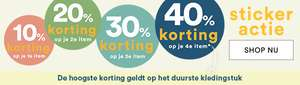 JBC stickeractie tot -40% en mid-season sale tot -50%