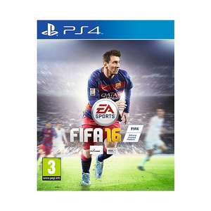 FIFA 16 (PS4/PS3/Xbox One/Xbox 360) voor €39,99 of €29,99 voor PC @ Wehkamp