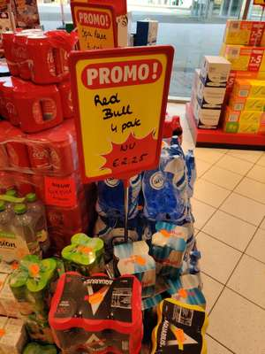 [GRENSDEAL BELGIË] Lokaal? Red Bull light 4 pack
